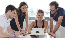 L'équipe du Groupe StadLine